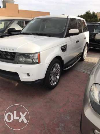 RANGE ROVER HSE 2011 luxury white/white interior american car