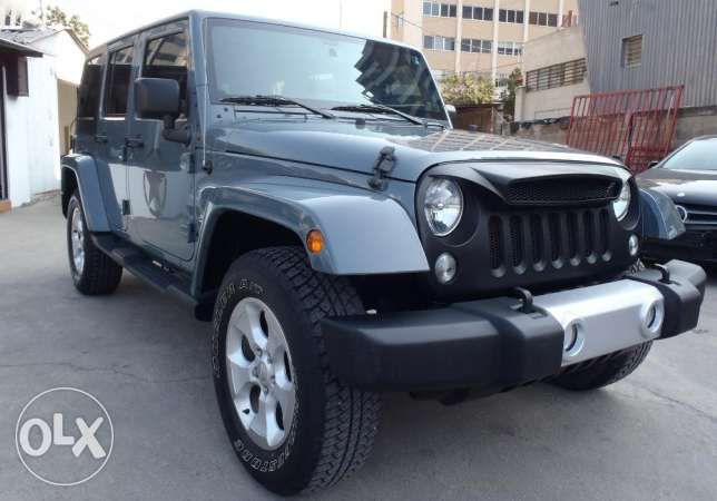 wrangler sahara unlimited edition 2012 , clean carfax