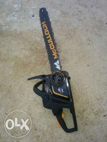 Mcculloch CS 400T Chainsaw (Like new)