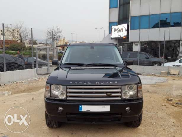 2003 Range Rover Vogue HSE Luxury Silver/Black Leather Clean Carfax
