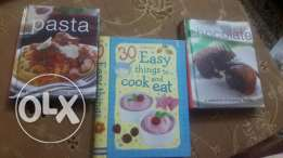 12 cooking books in english and arabic