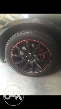 "18"" rims and wheels"