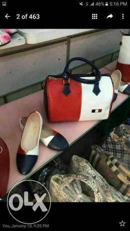turkish set shoes and bag.delivery all over lebanon