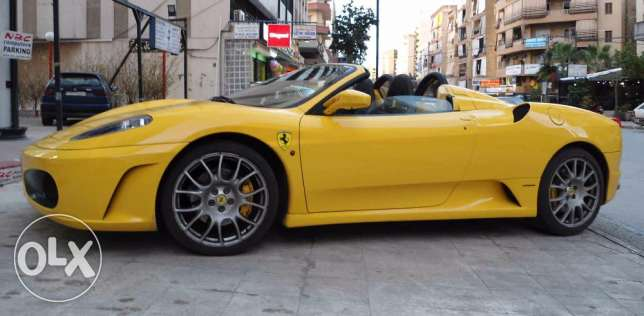 Ferrari F430, Yellow , Spider