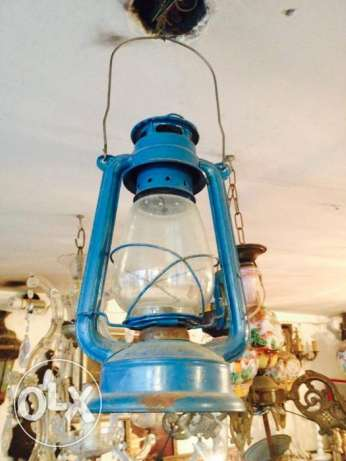 Old gas lamp,it still works.piece of collection.