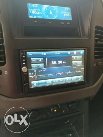 "Car 7"" lcd touch screen, radio, mp5 video player"