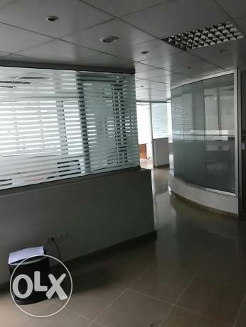 Office in galaxy center
