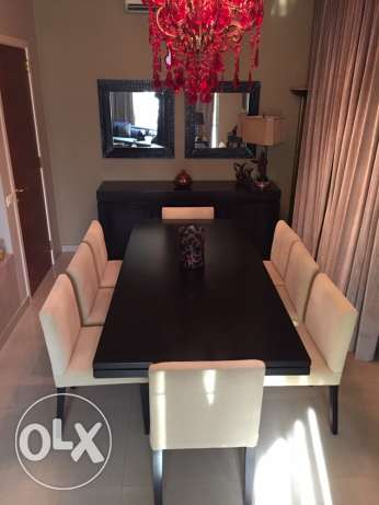 MODERN STYLE DINING ROOM (excellent condition)