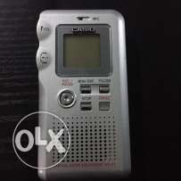 Casio DV-01 digital voice recorder (USB-memory card)