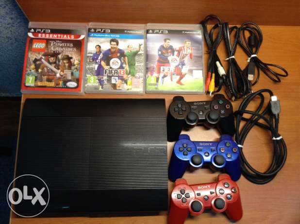 Ps3+3cd's+3manette