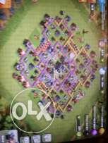 Clash of clans town hall level 9 only for 100$