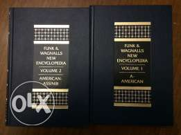 Funk and Wagnalls New Encyclopedia -- 2 volumes