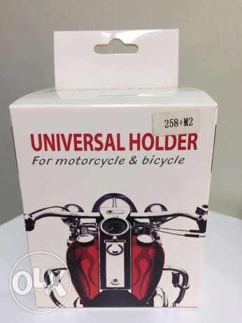 Phone Holder For Motorcycle and Bicycle Phone Holder