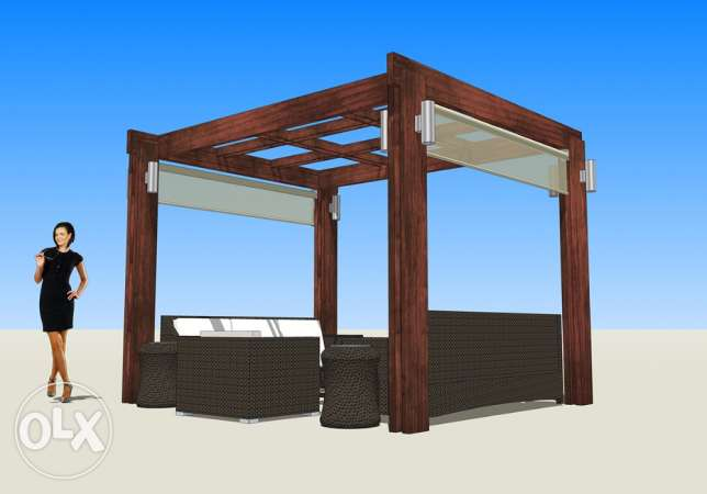 3D DESIGNER for your PERGOLA and outdoors انطلياس -  3