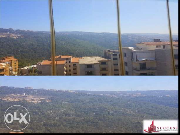 Decorated Apartment with Panoramic View for Sale in Mar Chaaya المتن -  1
