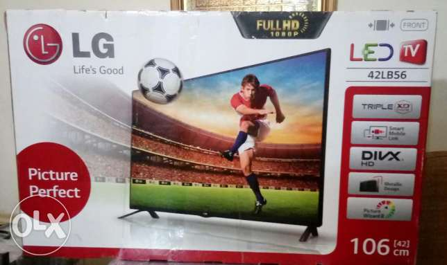 Brand new - TV - LG LED 42 - High quality