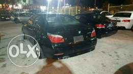 Bmw 525 sport package 2007 full options black interior super clean