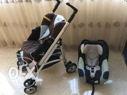 bebe confort stroller and car seat
