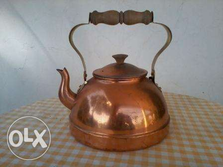 Old copper Jug, hand made, 20$ negotiable