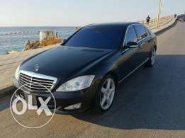 Mercedes Benz s500 Germany black