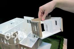 Maquette,autocad, 2d, 3d design ( best prices)