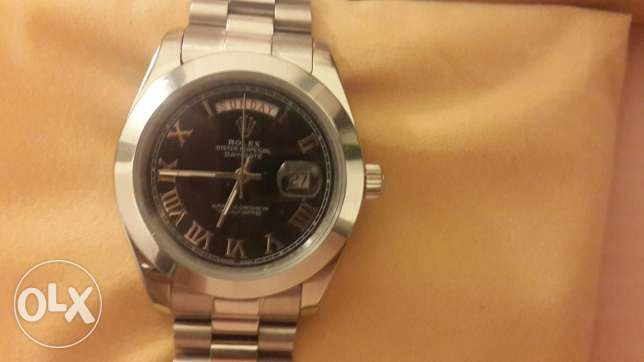 Rolex oyster perpetual day date - replica - new بعبدا -  3