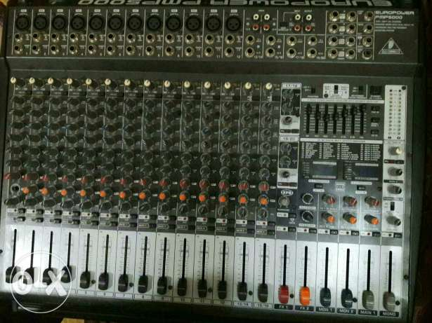 Mixer pmp 5000 and 2 spaker