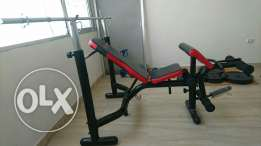Weight bench - Body System + 108 kg weights