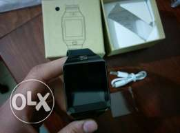 New Black Smart Watch Sim + Camera