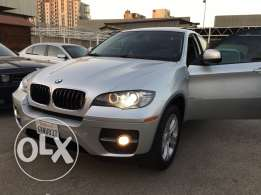 Bmw X6 2008 silver on black ajnabe