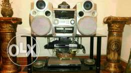 Stereo campomatic w tawlet tv jded