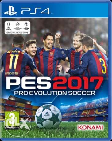 pes2017 for ps4 (arabic edition)