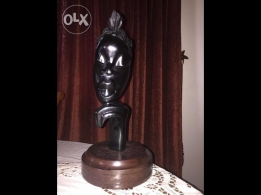 Eben wood art in good condition for sale