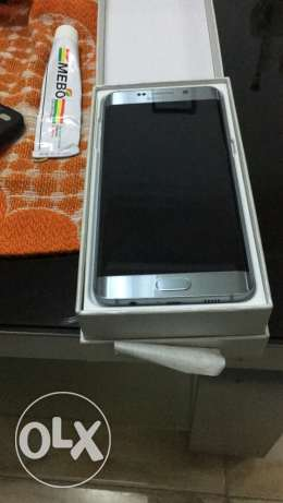 s6 edge plus new never used silver 32 gb النبطية -  1