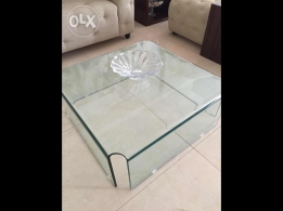 Glass tables for sale Excellent condition.