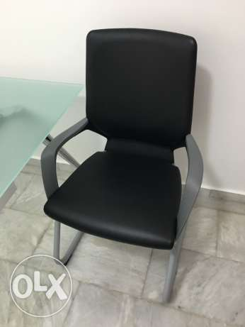 Office Black Chair For Sale الشياح -  1