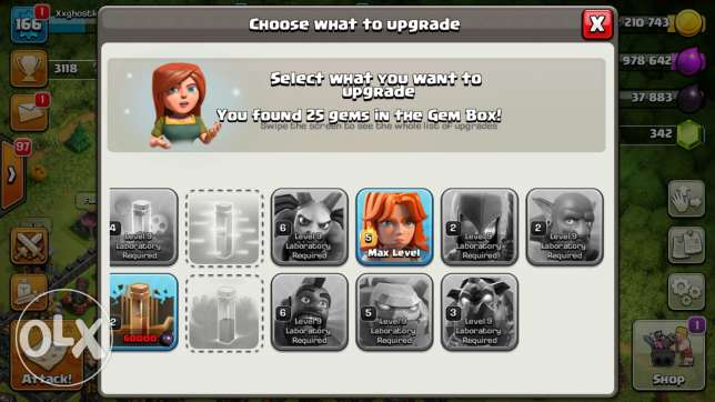 Clash of clans th10 for sale