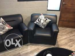 Office Leather Couch