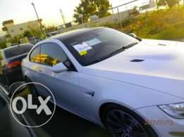 M3 coupe 2009 white