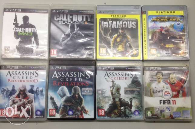 PS3 games all for 60$ special offer