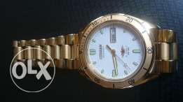 New Old citizen automatic men's gold plated vintage japan made