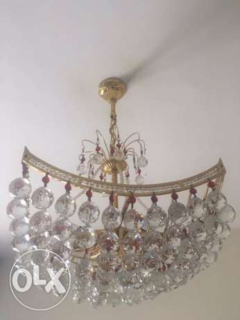 Crystal Chandeliers X2
