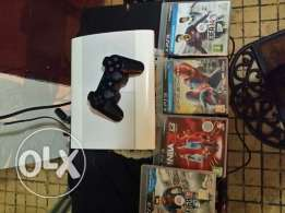 Ps3 with 4 DVD