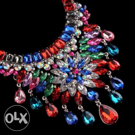 Bohemia Crystal Necklaces & Pendants Luxury #12 راس  بيروت -  4