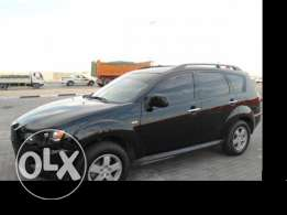 Practically new Mitsubishi outlander
