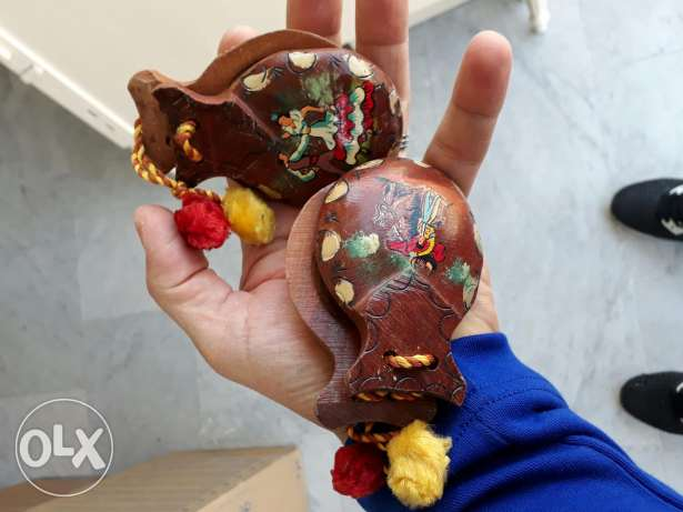 Old castanets