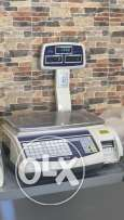 Electronic Scale with label - Used for 1 month
