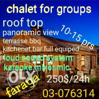 Chalet for occasions/faraya