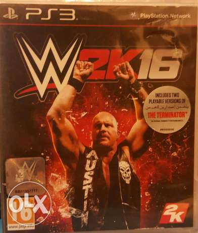 PS3 Game WWE2K 16 مكلس -  1