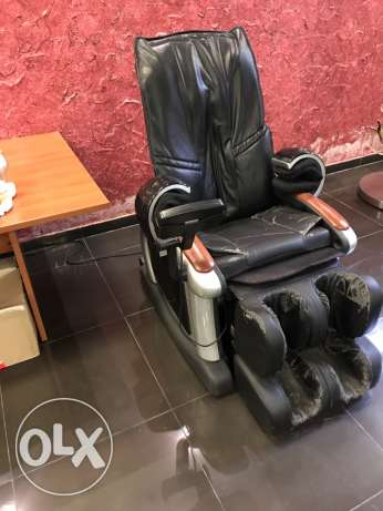 electric and air massage chair